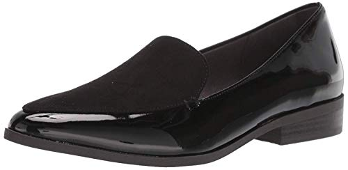 Dr. Scholl's Shoes Women's Astaire Loafer, Black Patent, 7.5 M US