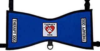 Therapy Dog Heart & Paw Vest - Deluxe