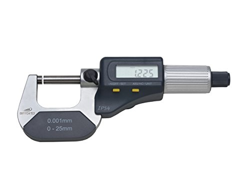 HELIOS-PREISSER Digitale Bügelmessschraube mit IP Schutz, 0912501
