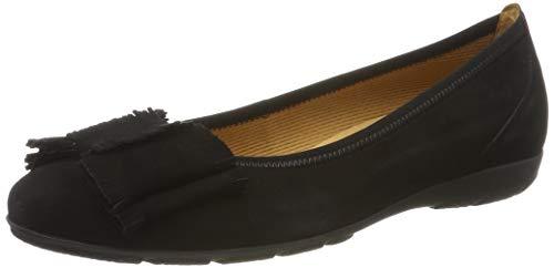 Gabor Shoes Damen Gabor Casual Geschlossene Ballerinas, Schwarz (Schwarz 17), 41 EU