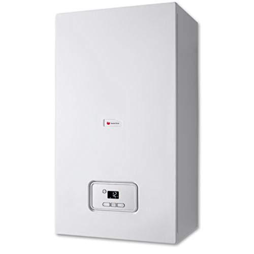 Caldera de gas de condensación mixta, serie Thelia Condens 25, potencia de 19, 1 kW en calefacción, 25, 2 kW en ACS, 30 x 41, 8 x 74 centímetros (referencia: 0010016089)