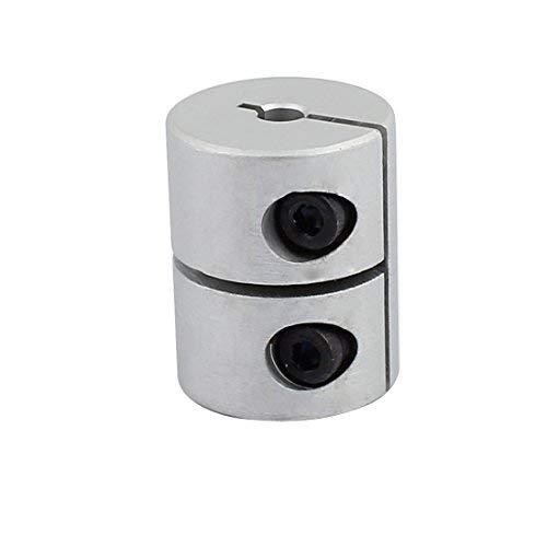 4mm à 4mm Couplage D'arbre 25mm Longueur 20mm Diamètre Coupleur En Alliage D'aluminium Joint Moteur pour Imprimante 3D CNC Machine DIY Encodeur