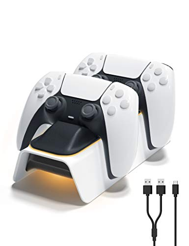 Extra $5 off PS5 Controller Charger Station Clip the Extra $5 off Coupon & add lightning deal price