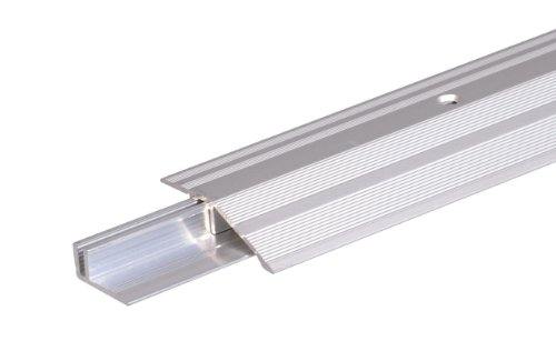 GAH-Alberts 487126 Ausgleichsprofil Pro | Aluminium, silberfarbig eloxiert | 900 x 44 mm