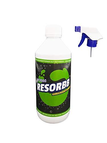 RESORBB® UF2000 Geruchsentferner 0,5 Liter + Sprühkopf