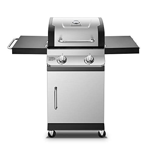 Dyna-Glo DGP321SNN-D Premier 2 Burner Natural Gas Grill, Stainless Gas Grills Natural