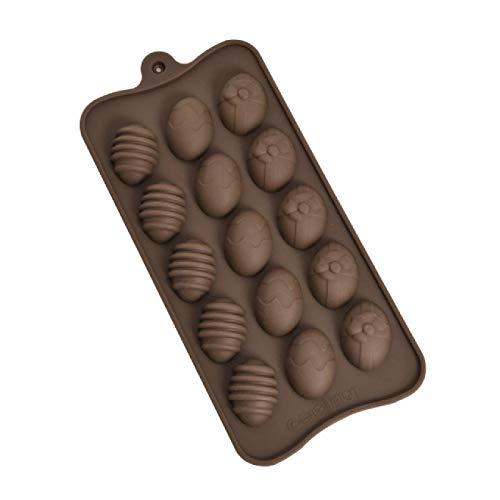 Stampo in silicone per uova di Pasqua Muffin Cake Stampo per...