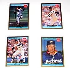 1992 Donruss Coca-Cola Nolan Ryan Career Series #21 of 26 Nolan Ryan of the Houston Astros 1987 - MLB Baseball Trading Card Sports Collectible