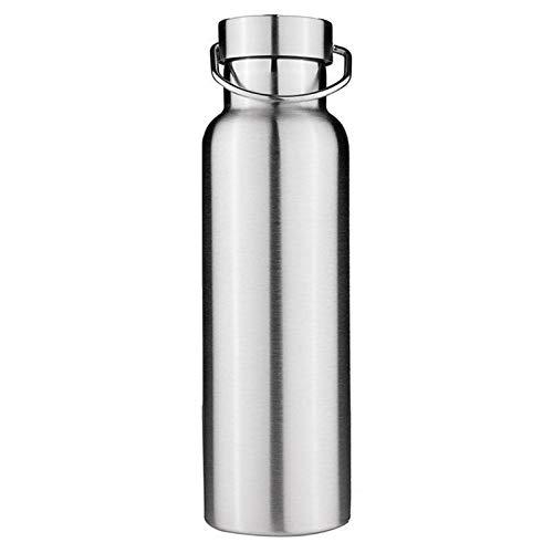 WEARRR 300/500/650/700/1000ml Stainless Steel Double Wall Vacuum Jug Insulated Water Bottles Coffee Kettle Travel Drink Vacuum Flasks (Capacity : 500ml)