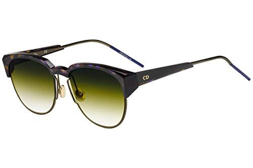 Dior Christian DiorSpectral Gafas de Sol Marrón con Lentes Amarillo Degradado s 53mm 01ISD DiorSpectrals DiorSpectral/S Spectral