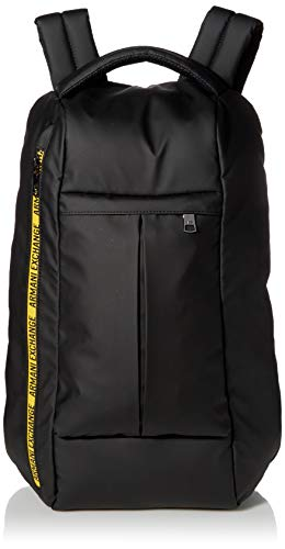 Armani Exchange Canvas Utility Backpack, Mochila para Hombre, Schwarz, O/S