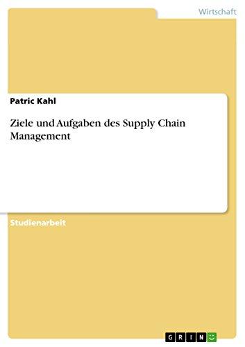 Ziele und Aufgaben des Supply Chain Management