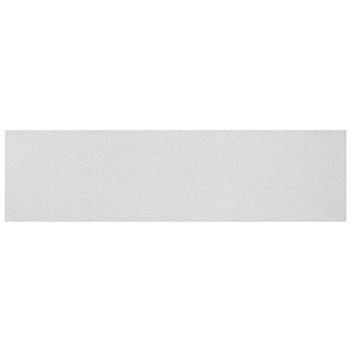 "Black Diamond Skateboard Griptape Solid Color Clear 9"""