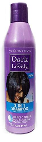 Dark and Lovely New Shampooing 3 en 1 250 ml