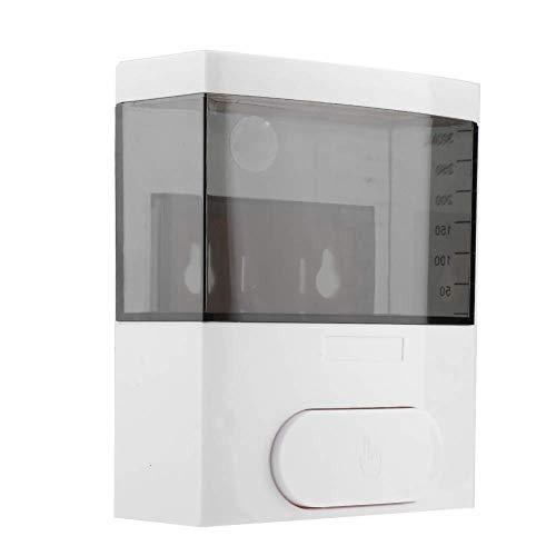 Dosificador de jabón a pared,Jabonera de loción líquido, Capacidad de 300 ml(Negro)