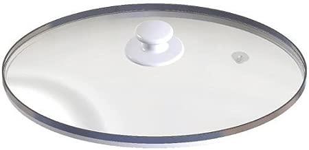 PartsBlast Replacement Oval Glass Lid Crock Pot & Slow Cooker for Rival SCVP609-KLS