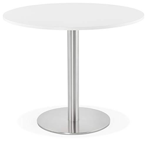 Générique Table à Diner Design Godet White 90x90x75 cm