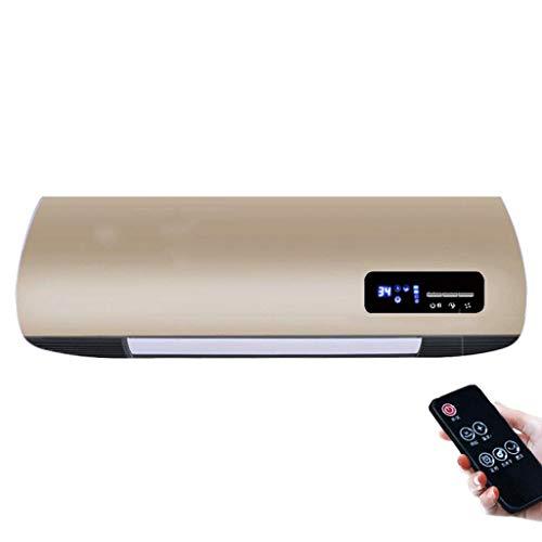 XIN radiateur mural radiateur de salle de bain Télécommande radiateur électrique étanche silencieux Faible consommation d'énergie (Couleur : B)