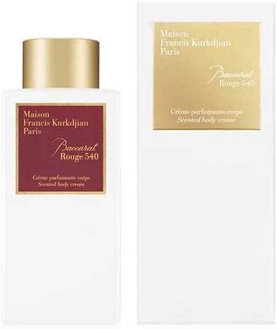 Maison Francis Kurkdjian BACCARAT Topics on TV ROUGE 8 250ml Gifts 540 Cream Body