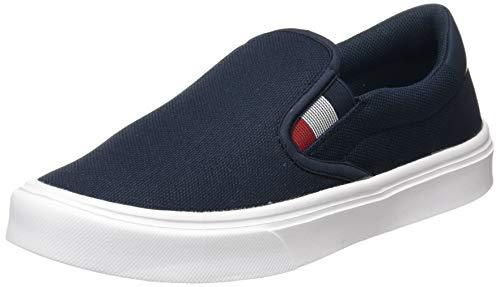 Tommy Hilfiger Mens Malcolm 20D Slip ON Sneaker, Desert Sky, 46 EU