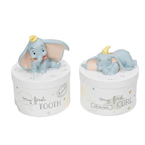 Disney Dumbo 3D Lockendose und Zahndose im Set - Geschenkset