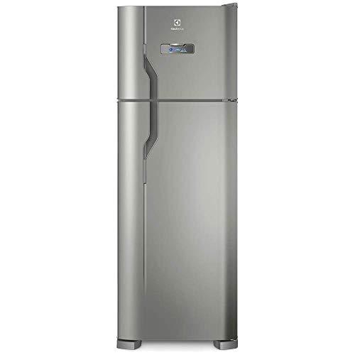 Geladeira/Refrigerador Frost Free cor Inox 310L Electrolux (TF39S) 127V