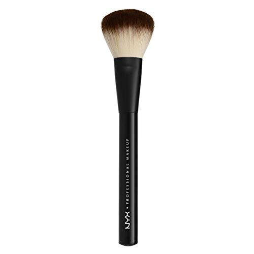 NYX Professional Makeup Pro Brush Powder 02 - Schminkpinsel, einfacher Auftrag von losem oder kompaktem Puder, weicher Make-up Pinsel