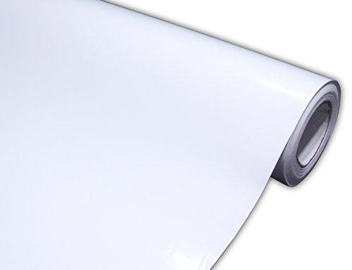 Hachi Auto Gloss White Vinyl Car Wrap Film (1FT x 5FT)