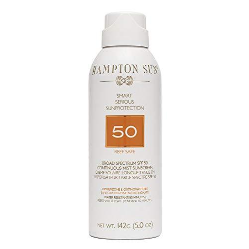 Hampton Sun Spf 50 Continuous Mist Sunscreen, 5 oz