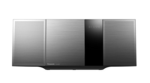 Panasonic SC-HC397EG-K Sistema Micro, CD, DAB+, MP3, Radio RDS, USB, NFC, Bluetooth, Design Verticale, Nero