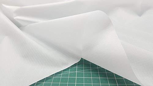 Tela impermeable color blanco para hacer paraguas, forros.Tejido fino y ligero. K6426 - Kadusi