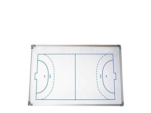 Softee 0004723 Pizarra magnética de fútbol Sala Balonmano, Unisex Adulto, Blanco, 60 x 90 cm