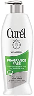 Curel Daily Moisture Fragrance-Free Lotion For Dry Skin 13 oz (Pack of 3)
