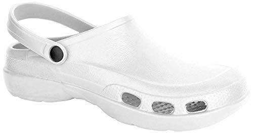 Lemigo - Sandali ortopedici, taglia 47, colore: bianco