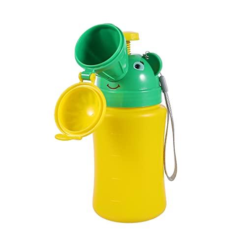 STOBOK Niños Orinal Inodoro Orinal Niños al aire libre Urinario de Emergencia Inodoro Niño Viaje Orinar Botella a prueba de fugas Prince Style Inodoro Contenedor