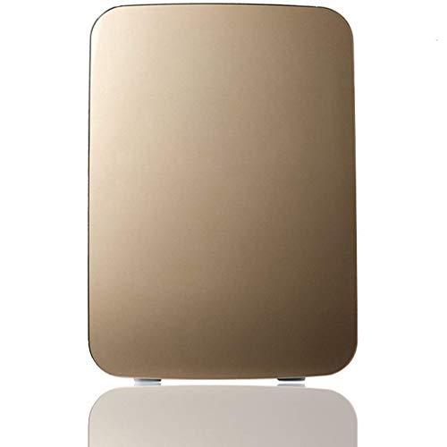 MUTANG Mini-Kühlschrank, Auto 12v Kleiner Kühlschrank Mini-Einzel Can Rent A Kleine Kälteschlafenergiesparende Heizung und Kühlung Box Silent-Mini-Kühlschrank 10L - Ausgeglichenes Glastür