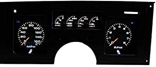 Intellitronix C4 Corvette 1984-1989 Analog Dash Gauge Instrument Replacement Panel - Direct Fit Solution - Long Lasting Bright Backlit LEDs - USA Made Quality Upgrade