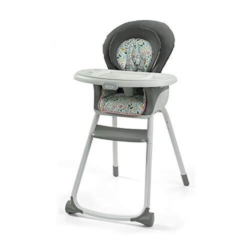 Graco Made2Grow 6 in 1 High Chair | Converts to Dining Booster Seat, Youth Stool, and More, Tasha