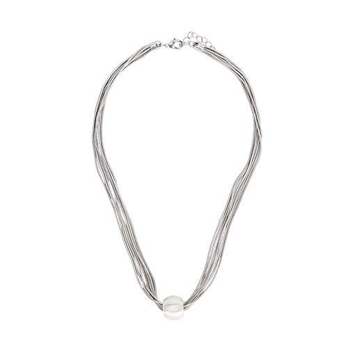 Parfois - Collar Corto Esfera - Mujeres - Tallas Única - Plateado 1