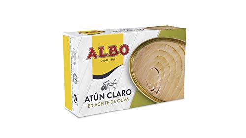 Albo - Atún claro en aceite de oliva - 112 g - [Pack de 8]