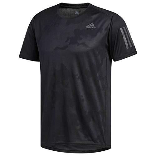 [アディダス] ランニングウェア RESPONSE半袖Tシャツ EEO04 [メンズ] ブラック (CE7263) 日本 J/L (日本サ...