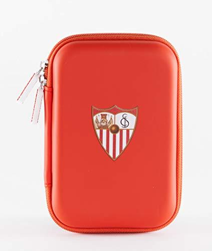 Sevilla Fútbol Club- Funda universal para airpods, iwatch o smartbands, auriculares, cables, pendrives y mucho más