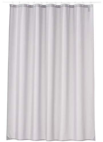Carnation Home Fashions Duschvorhang, Standardgröße, Polyester, Grau, 70 x 72 cm
