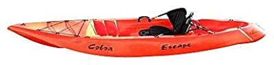 1140V-12RY Cobra Kayaks Red/Yellow Escape Recreational Sit On Top Single Person Kayak