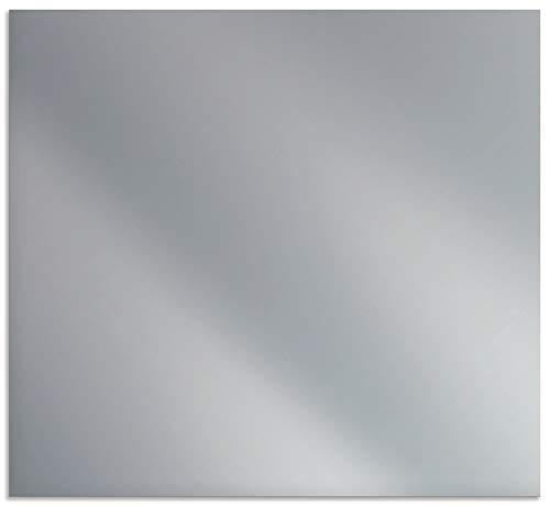 Artland Spritzschutz Küche aus Alu für Herd Spüle 60x55 cm Uni Farbe Silber Alu gebürstet H7BO