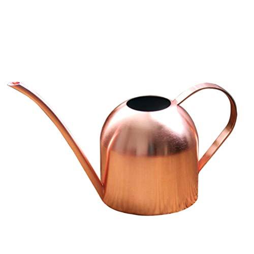 Yardwe 1 stücke Kupfer gießkanne kleine wasserdose für Indoor Outdoor Haus Pflanzen 1000 ml