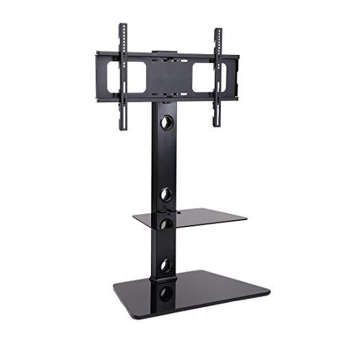 Fleximounts テレビスタンド 壁寄せテレビ台 32-65インチのテレビに推奨 耐荷重40KGまで 地震転倒防止対策 高さ調節可能 TS01…