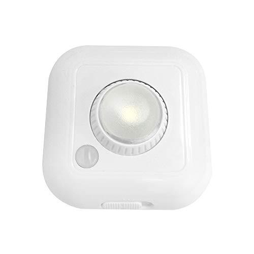 Lixada LED bewegingssensor verlichting kast kast lamp nachtlicht instelbare helderheid verlichtingshoek warmwit licht