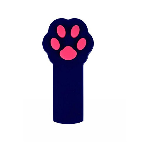 Cat Catch The Interactive LED Light Pointer Paw Style Cat Toys Red Pot Exercise Chaser Toy Pet Scratching Training Tool Blue