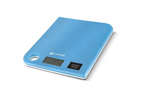 Grunkel - Báscula de cocina digital. Diseño extraplano, peso máximo 5 kg con precisión de 1 g, diseño extraplano - BCC-G5